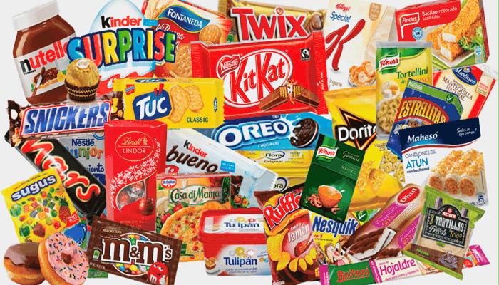 Evite alimentos processados, como salgadinhos, doces,etc.