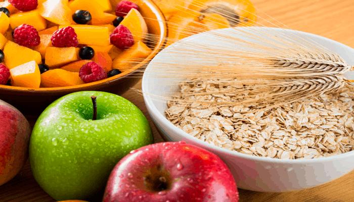 Alimentos ricos em fibras. Consuma mais fibras para ter seu abdômen tanquinho.